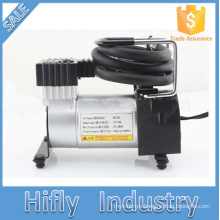 HF-107B New Arrival DC 12V Mini Car Air Compressor Portable High Pressure Tire Inflator Air Pump